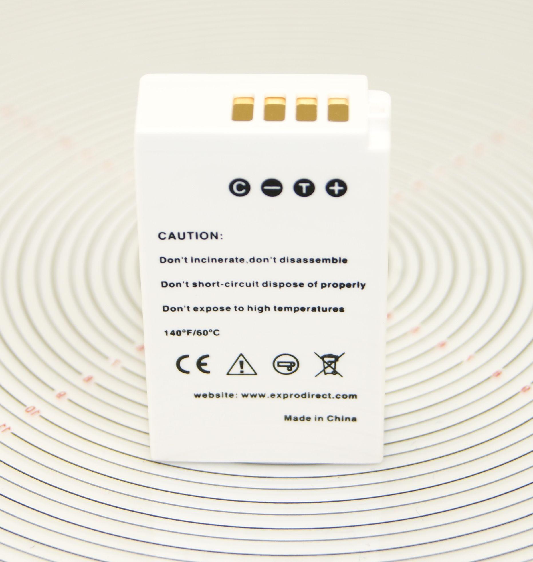 Ex-Pro EN-EL20 ENEL 20 Ultra Blanco Batería 7.4v 1100mAh Para Nikon 1 AW1 1 J1