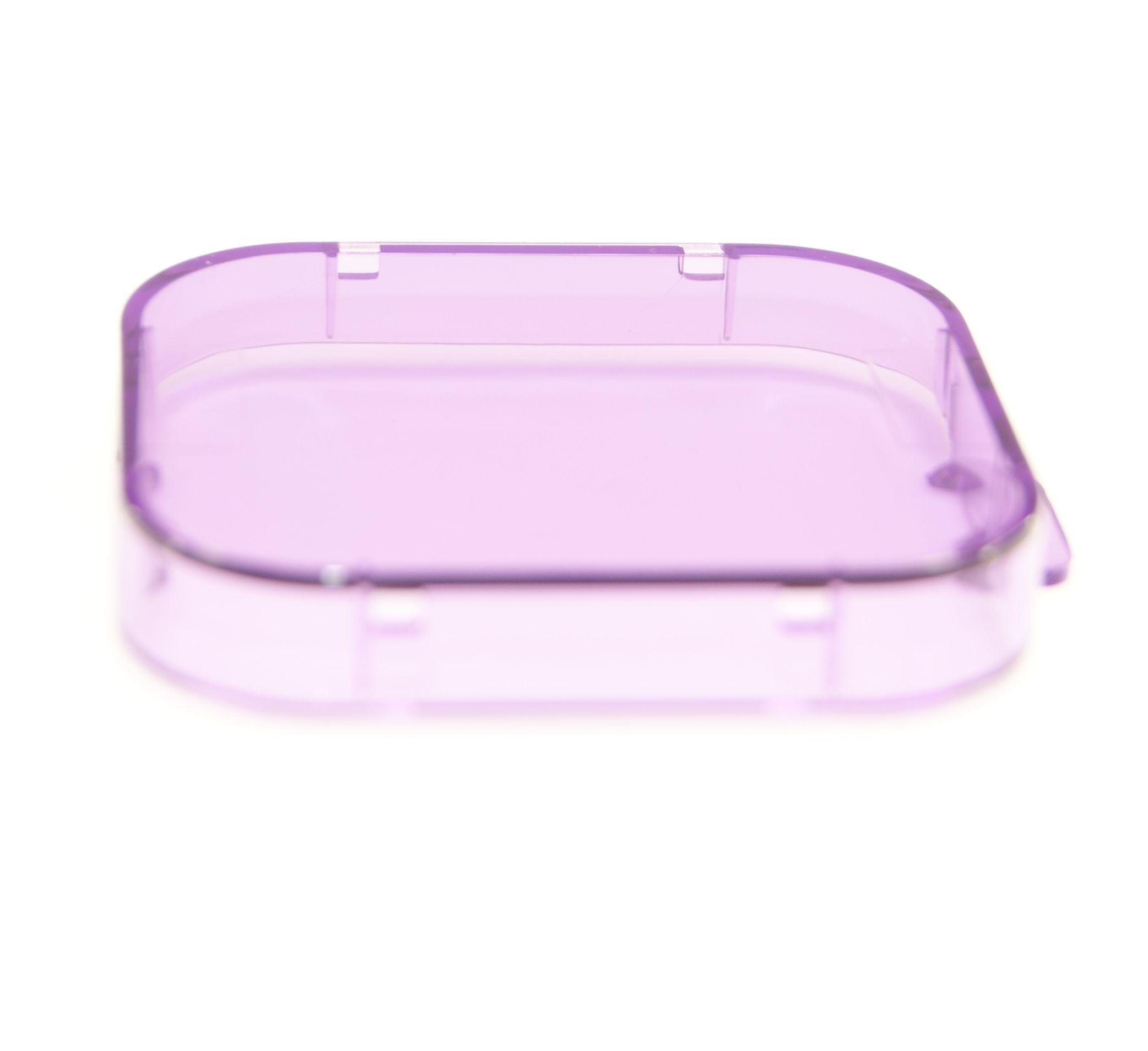 Ex-Pro® Underwater Lens Filters lanyard hole Purple for GoPro Hero 3 3 4