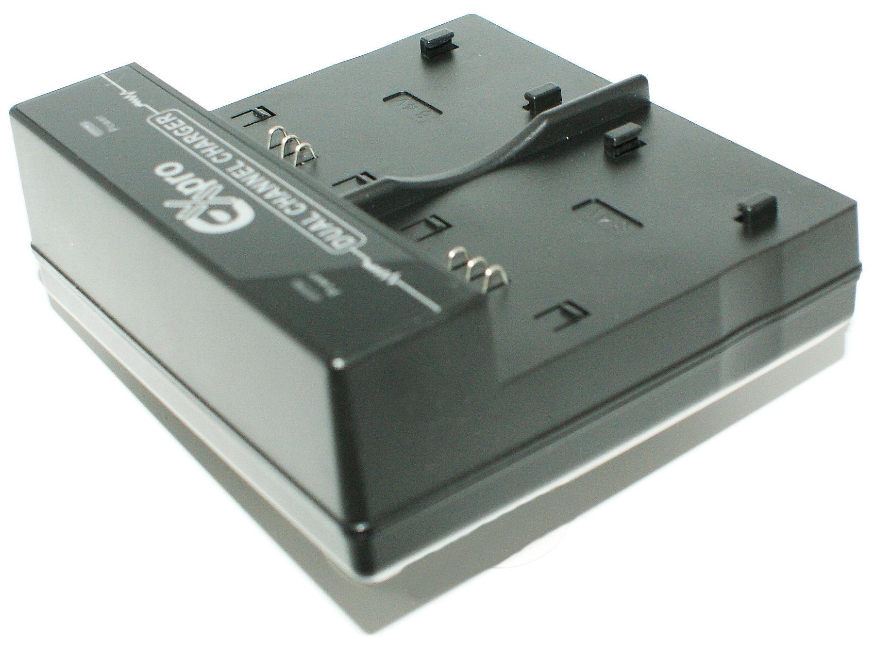 VWBC 10EBK-VW-VBL090 VW-VBK180 Doble cargador de batería para P @ VW-BC10