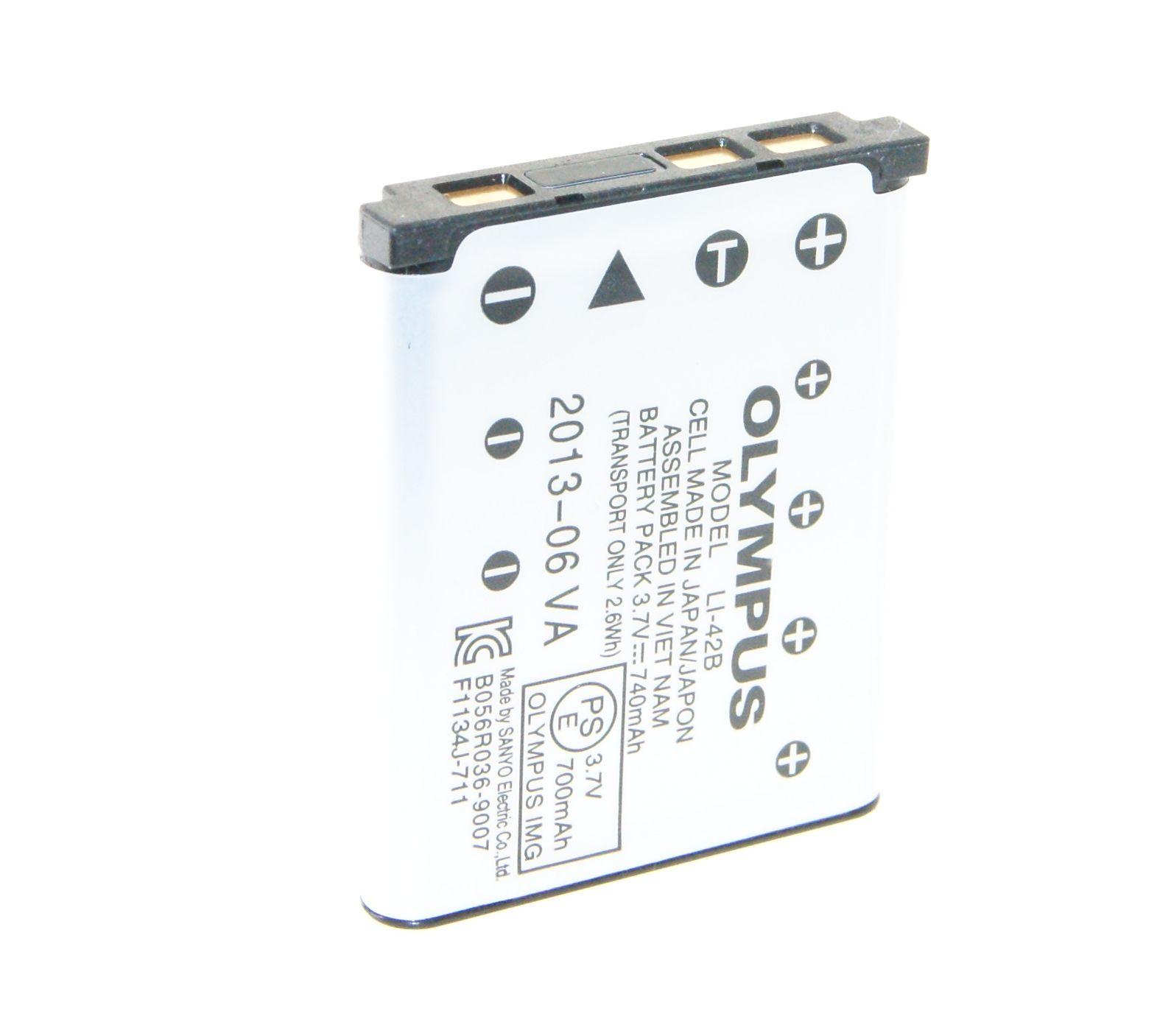 Batería 2x para Olympus mju 5000 mju 7000 li-42 li42b