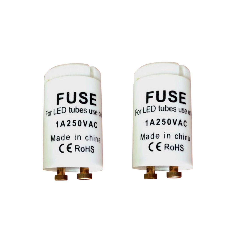 Fluorescent Light Fuse: Starter For LED T8 Fluorescent Tubes LED Starters Fuse