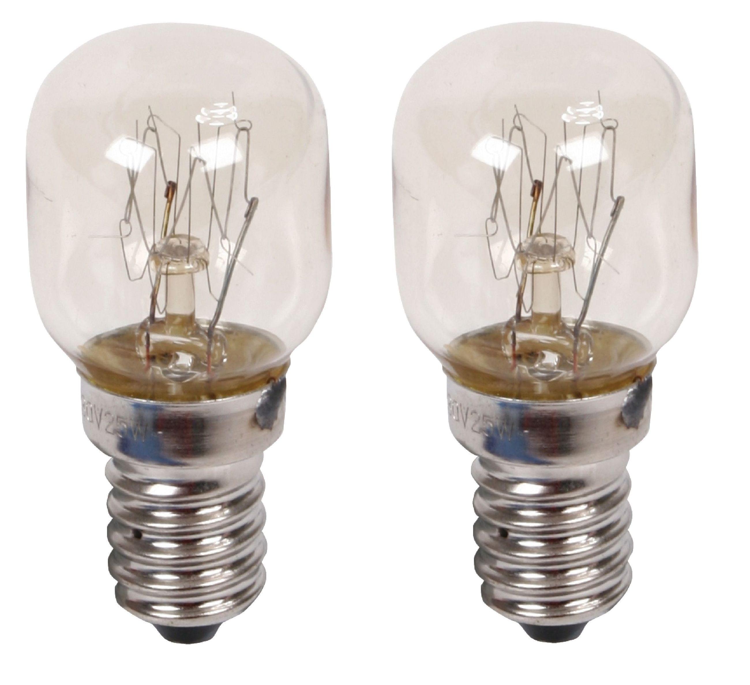 10 x Eveready 25W SES E14 Clear Pygmy Fridge Freezer Appliance bulb Long Life