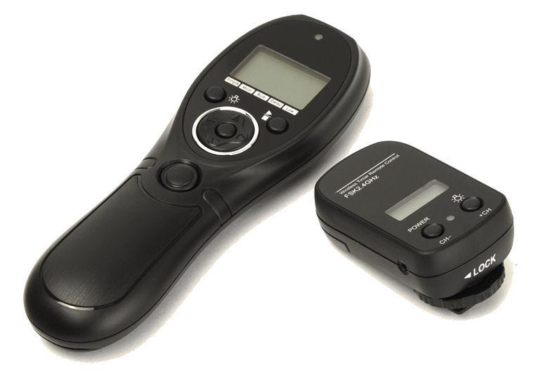 Ex-pro wireless-pro 2.4 ghz Temporizador LCD remoto interruptor de control para Kodak dcs-14n