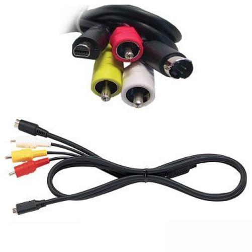 Audio Video AV Cable for Sony DCR-HC24E DCR-HC26E